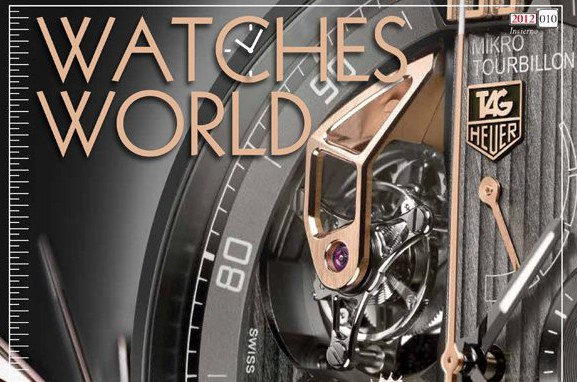 "Watches World ""cover"", Invierno 2012"