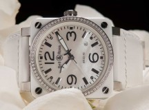 Bell & Ross  BR03-92 MOP Diamonds