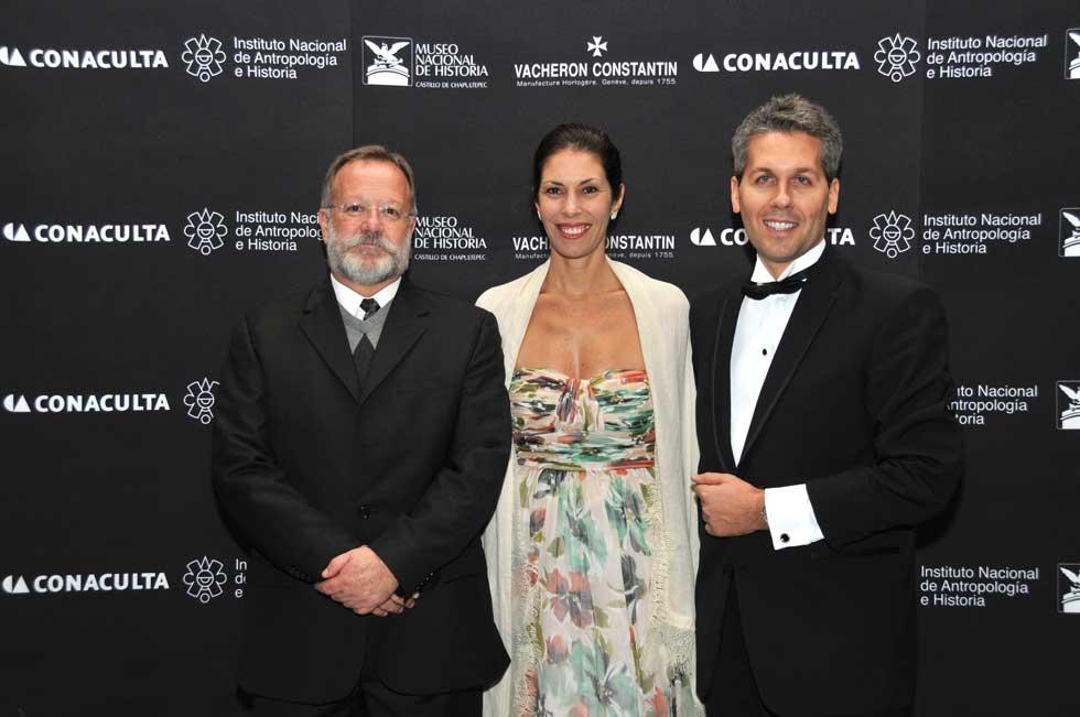 Salvador Rueda Smithers, Valeria Rochon y Julien Marchenoir.