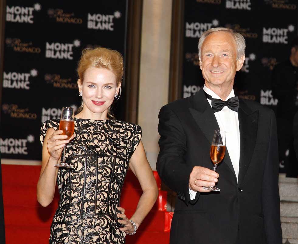 Nicolas Cage, Naomi Watts, Amber Heard y Jessica Alba, así como más de 1,000 invitados VIP, quienes disfrutaron de una noche inolvidable producto del extraordinario trabajo de Lutz Bethge, CEO de Montblanc, como anfitrión.