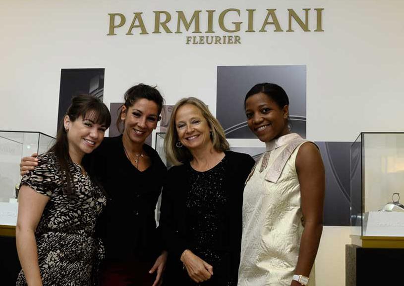 Naomi Evans, Carla Rosell, Marcia Mazzocchi y Tandiwe Zulu