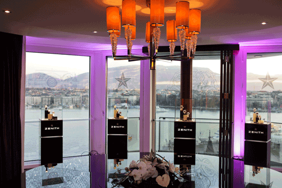 Inigualable la vista del hotel Kempinski.