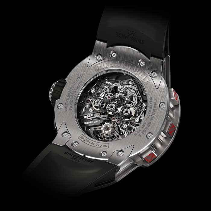 RM-039 Aviation E6-B Cronógrafo Tourbillon Flyback