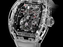 Reloj Tourbillon RM 56-01, zafiro.