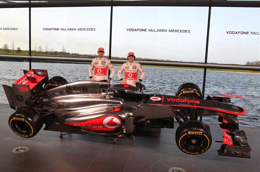 Vodafone McLaren Mercedes MP4-28