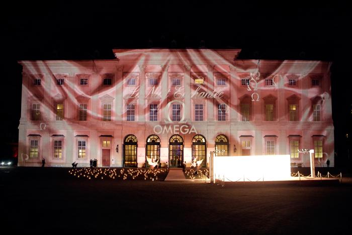 El evento La Nuit Enchantee se llevó a cabo en el Gartenpalais Liechtenstein.
