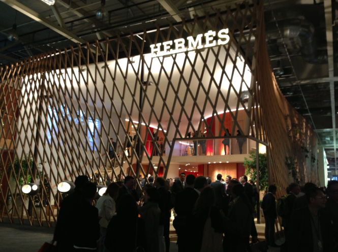 Hermès Pavilion Baselworld 2013 by Toyo Ito