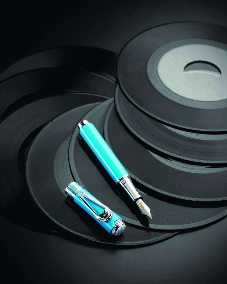 Montegrappa Icons Elvis PresleyLimited Edition - Mod. Aqua (Youth Period)