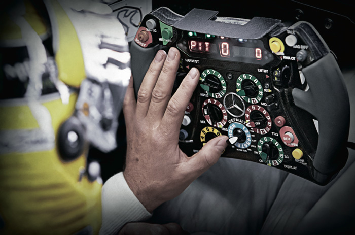IWC Schaffhausen / Mercedes Benz AMG Petronas Formula One Team
