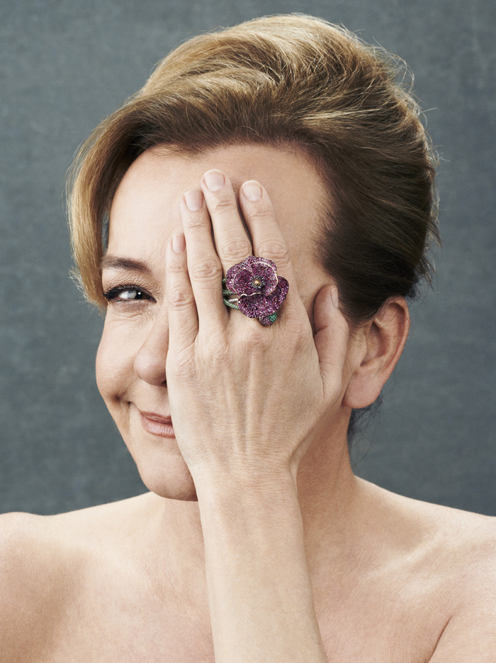 Caroline Scheufele, Poppy Ring, Red Carpet Collection 2013.