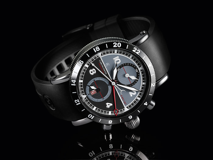 Timemaster Chronograph GMT S-RAY 007