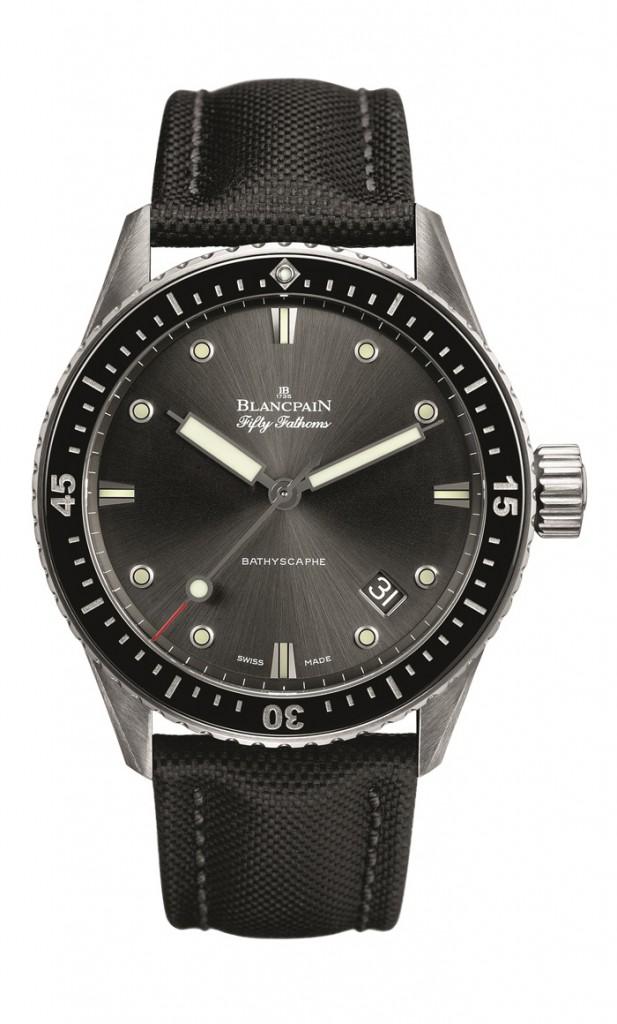 Blancpain Bathyscaphe, celebra 60 años del primer reloj de buceo.