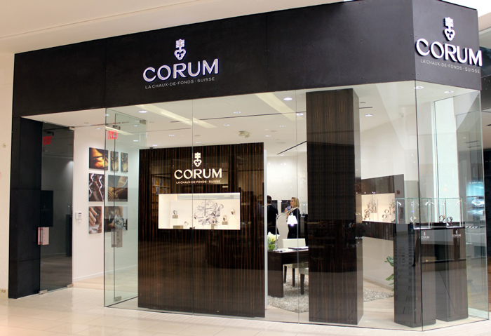Nueva boutique CORUM en Miami Florida.