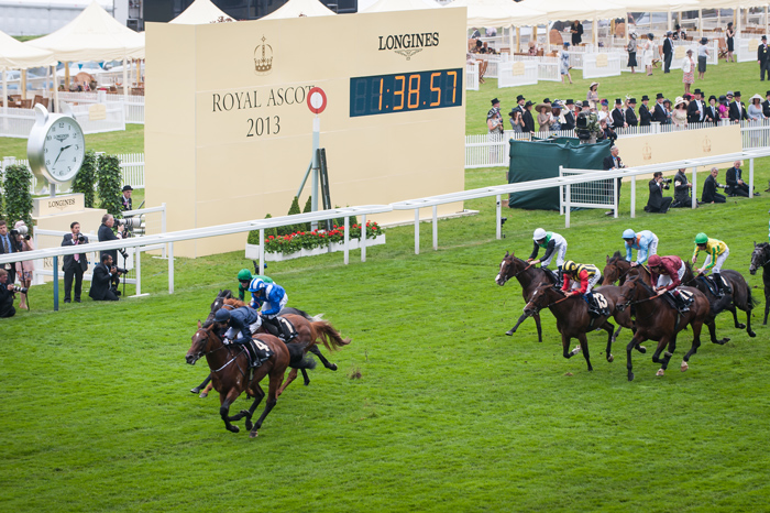 Royal Ascot 2013 / Longines Official Timekeeper, Official Partner and Watch.