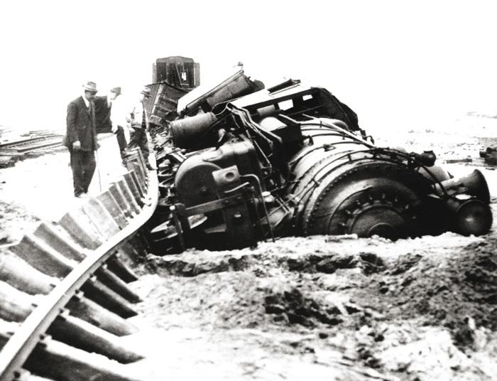 Desastre Ferroviario de Kipton 1891.