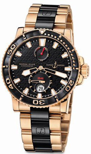 Maxi Marine Diver oro rosa