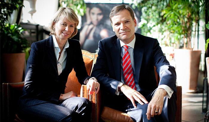 Aletta y Peter Stas, Fundadores de Frédérique Constant