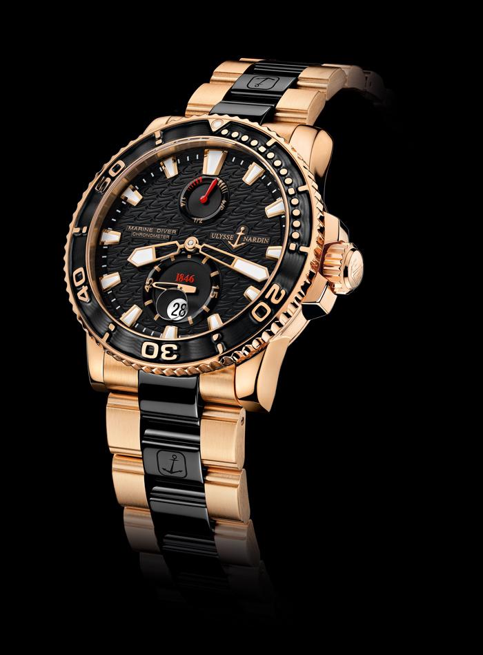 Ulysse Nardin Maxi Marine Diver Rose Gold
