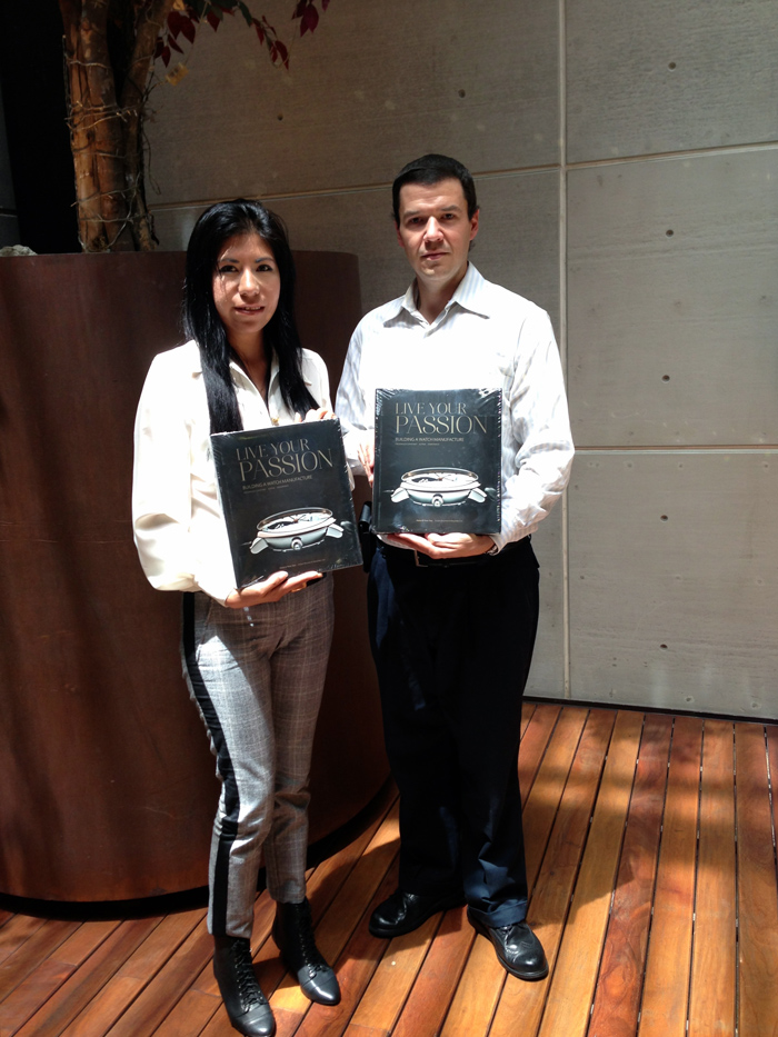 """Lizeth Romero y Rafael Martínez, ganadores de """"Vive tu Pasión"""", Frédérique Constant y Watches World."""