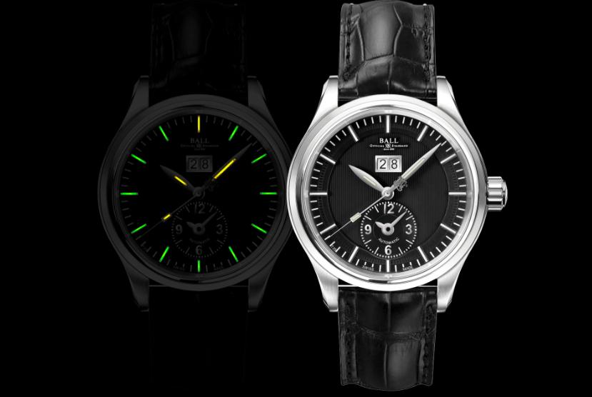 Con el fin de garantizar una legibilidad óptima incluso en la oscuridad, los doce índices de la carátula y las agujas de la hora y los minutos tienen incorporados los característicos microtubos de gas 3H luminiscentes exclusivos de BALL Watch.