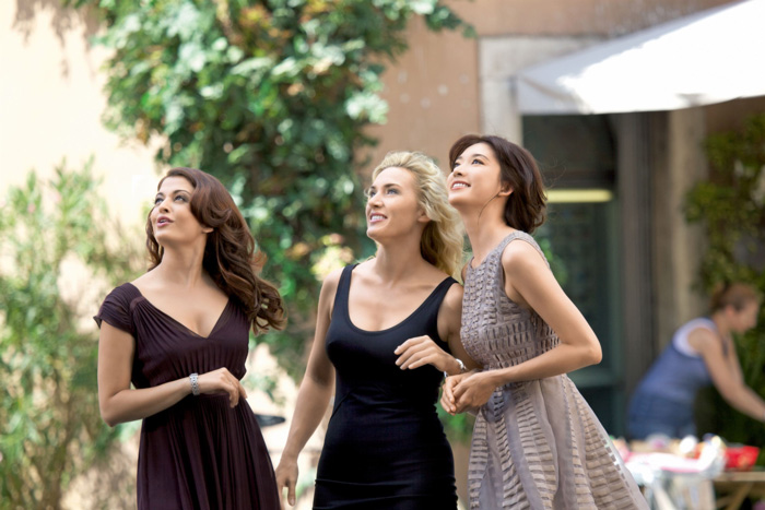 Aishwarya Rai Bachchan, Kate Winslet y Chi Ling Lin
