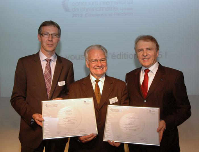 Nicolas Clerc, Claude Henri Chabloz y François Thiébaud