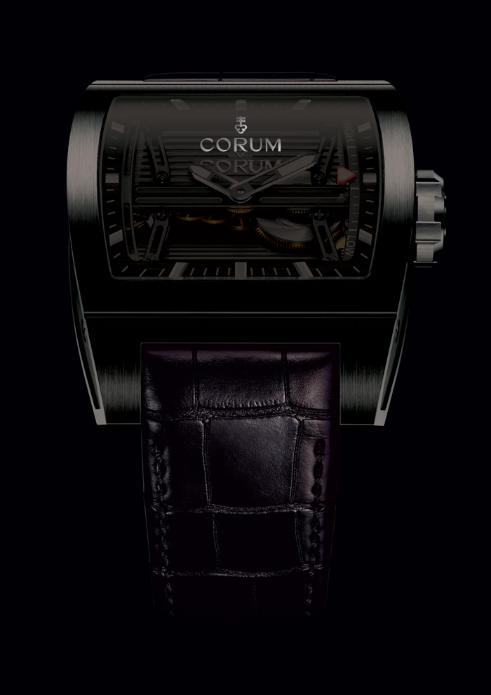 CORUM Ti-Bridge Power Reserve Gérard Sené