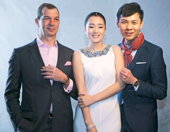 Philippe-Léopold Metzger, Gong Li y Anthony Chen