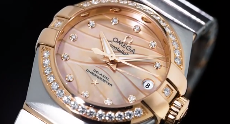 Omega Constellation Pluma.