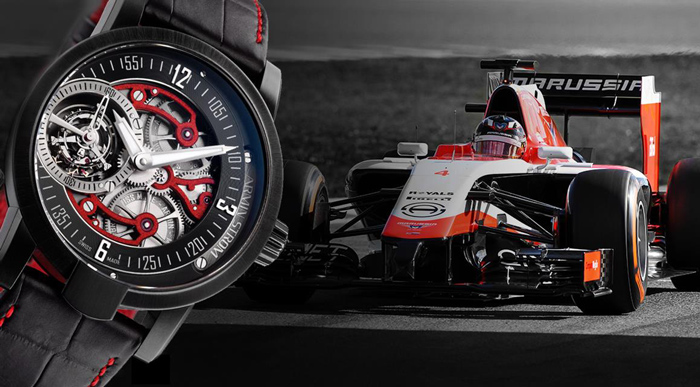 Armin Strom - Racing Tourbillon Marussia F1 Team
