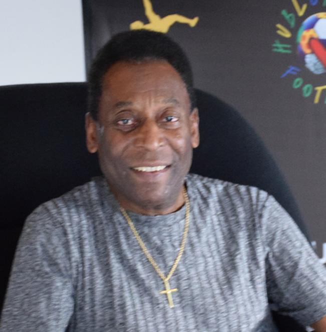 """Edson Arantes do Nascimento """"Pele"""", Embajador de HUBLOT."""