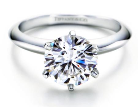La gema favorita en los anillos de compromiso.
