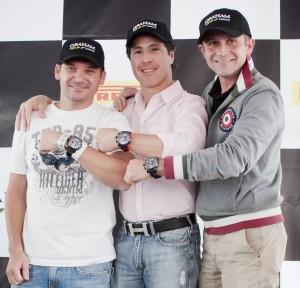Marc Jouille, Mario Domínguez y Emanuel Bitton.