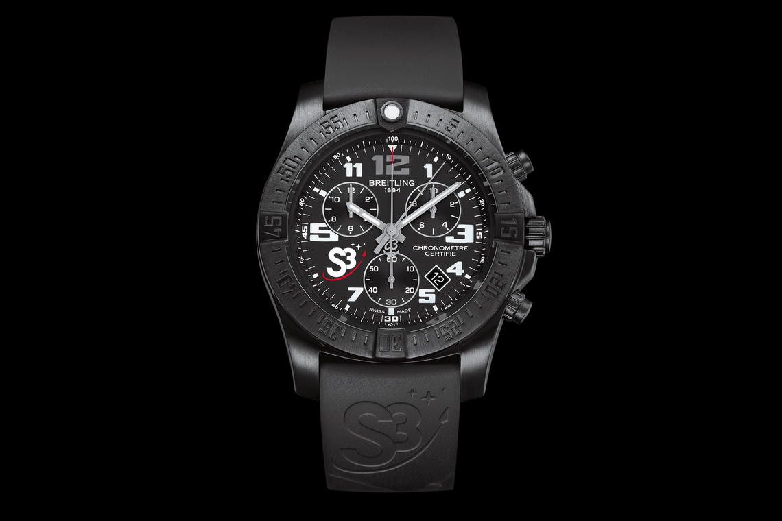 Chronograph S3. The Zero Gravity Watch.
