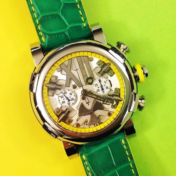 The Steampunk Chrono welcomes its latest Brasil Edition - limited to only 14 pieces