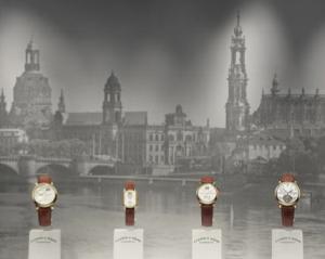 Primera colección, actualmente exhibida en la boutique de Lange de Dresde