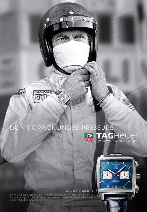 TAG Heuer Dont Crack Under Preassure