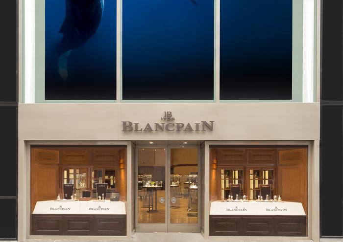 Blancpain  featNYC-Boutique-Entrance