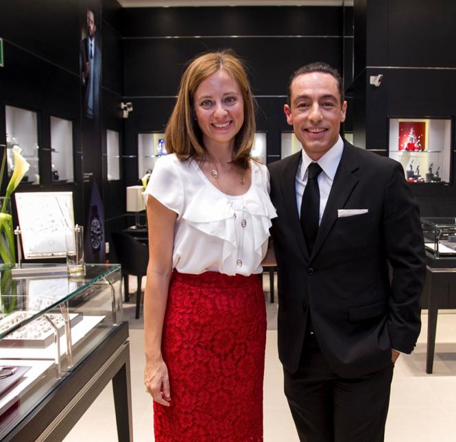 Stéphanie Martínez y José García Villarreal