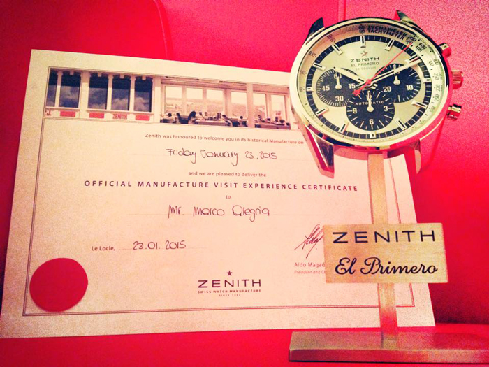 Zenith Manufacture