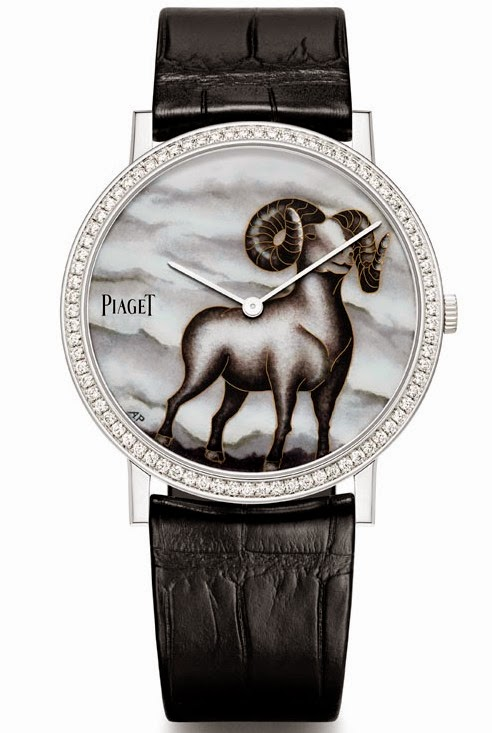 Piaget+Altiplano+Email+Cloisonné+Goat+-+The+Year+of+the+Goat+Edition