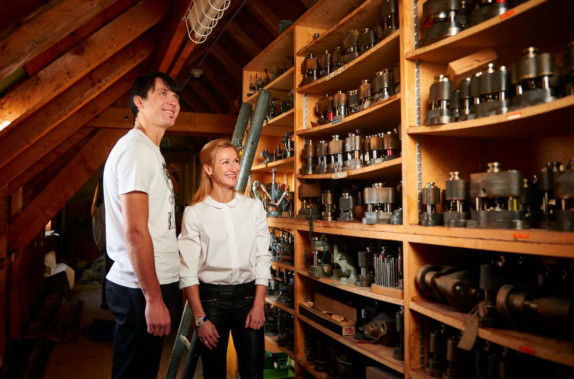 Tatiana & Maxim - Charles Vermot's attic