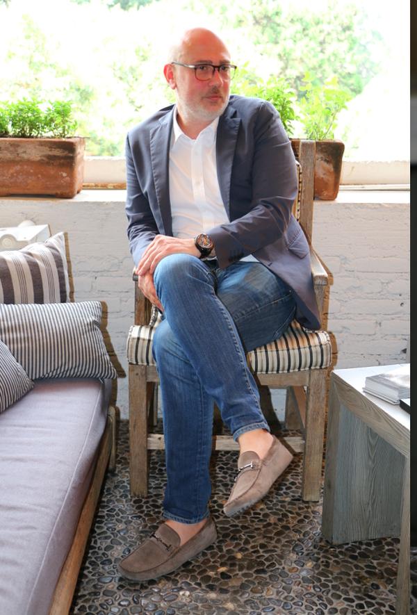 Giancarlo Mantuano, CEO de Bomberg (fotografía de Attila México).