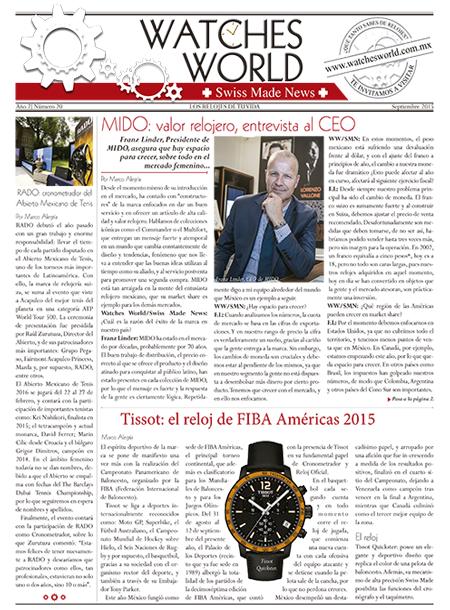 Swiss Made News sept 2015
