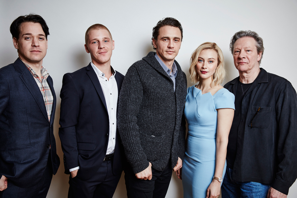 Actors T.R. Knight, Daniel Webber, James Franco, Sarah Gadon and Chris Cooper of hulu's 112363 TV showGetty Images