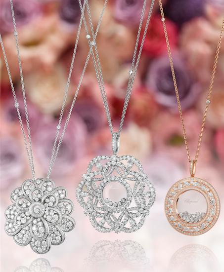 Happy Diamonds pendants