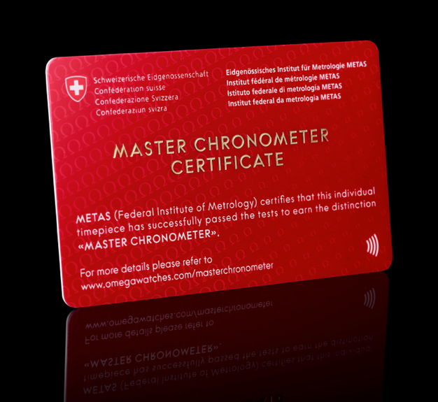 OMEGA MASTER CHRONOMETER METAS 8