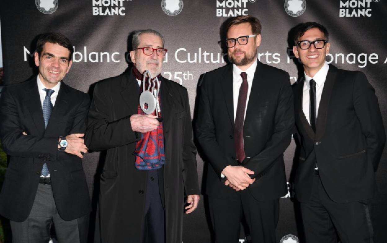 Montblanc-de-la -Culture -Arts Patronage -Award-2-2016