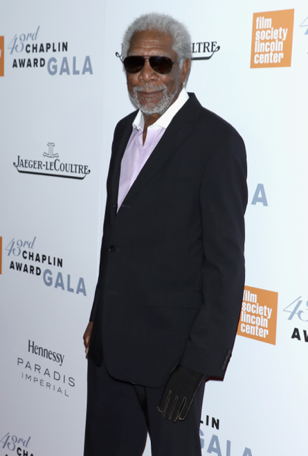 Morgan Freeman - 43rd Chaplin Award Gala - GettyImages