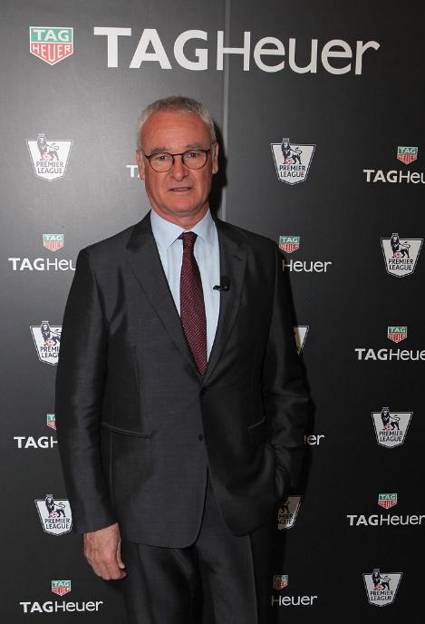 Ranieri es nuevo embajador de TAG Heuer